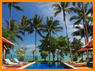 3009 - Beachfront luxury with Thai chef service, Lipa Noi