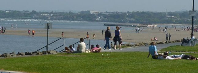 500 metres from house you can stroll along Sandymount promenade with this view