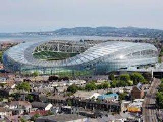 Les Aviva Stadium 8 minutes à pied des hôtes de rugby et de football matches internationaux et de nombreux concerts