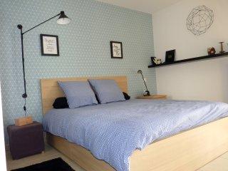 Appartement OXYGEN: luxe et lumiere proche du centre, du tram et de la mer