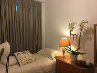 GG - Cosy Single sunny south facing room for 1 or 2. Can sleep two but cosy.
