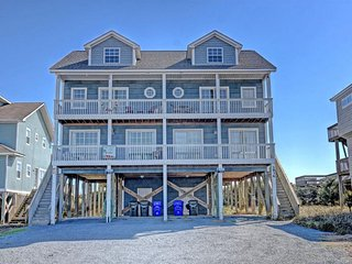 Island Drive 3938 Oceanfront! | Internet, Pet Friendly, North Topsail Beach