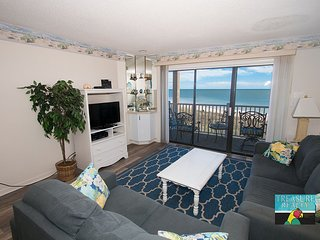 Topsail Dunes 3307 Oceanfront! | Community Pool, Tennis Courts, Grill Area, North Topsail Beach