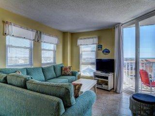St. Regis 3414 Oceanfront! | Indoor Pool, Outdoor Pool, Hot Tub, Tennis Courts