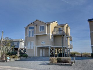 S. Shore Drive 1710 Oceanfront! | Internet, Fireplace, Hot Tub, Pet Friendly, Surf City