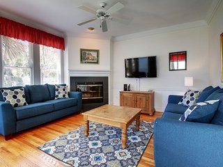 Relax in the living room with comfortable seating
