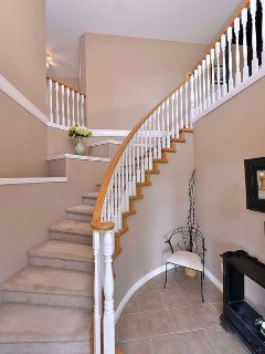 Front entry staircase