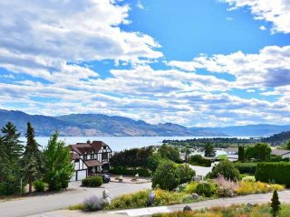 Incredible 5 Bedroom Okanagan Lake View Home with Hot Tub