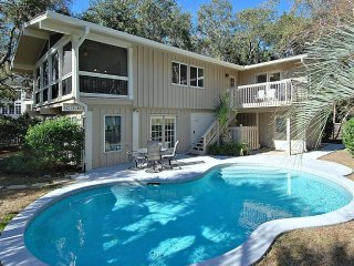 200 Feet from the Beach - 5 Bedroom Home with Private Pool, Short Walk to, Hilton Head