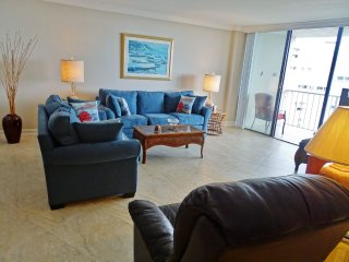 Charming and comfortable beachfront condo overlooking the Gulf waters