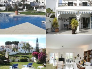 BEAUTIFUL VILLA WITH STUNNING VIEWS, PRIVATE GARDEN AND COMMUNITY.SWIMING POOL, Nerja