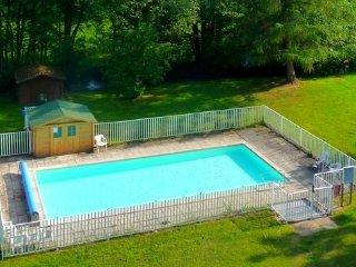 Studio en montagne avec piscine et sauna