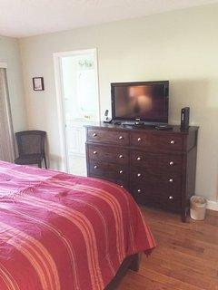 TV Area in Master Bedroom