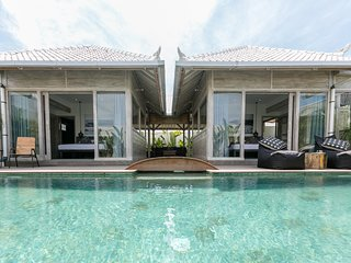 Amazing 2BR & Private Pool luxury Villa close to the beach of Pererenan