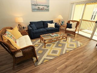 Surf Condo 636 - Wonderful Ocean View, Beachy Chic Decor, Pool, Beach Access