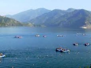 Village retreat with Panoramic reivew of Tehri Lake