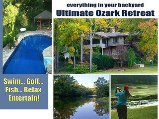 Golf Course Riverfront Retreat  1 Dowell Lane WOW!, Cherokee Village