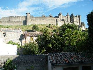 Vue imprenable sur la cité de Carcassonne, Carcassone
