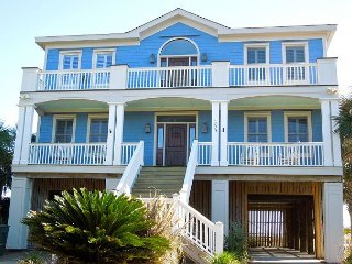 Oceanfront Relaxation at Its Best with Views of the Folly Pier and Beach
