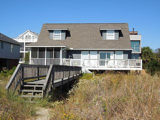 Blue Bayou - Traditional Oceanfront Home, Folly Beach