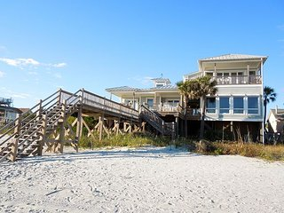 Charisma by the Sea - Elegant Beachfront Home, Folly Beach