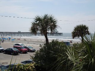 Charleston Oceanfront Villas 101 - Views of the Ocean and Pier