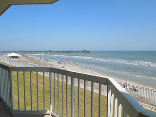 Charleston Oceanfront Villas 112 - First Floor Oceanfront Condo, Folly Beach