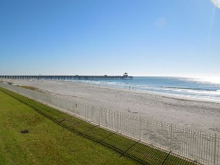 Charleston Oceanfront Villas 114- Great Location with Stunning Views, Folly Beach