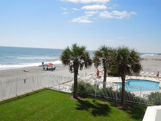Charleston Oceanfront Villas 120 - Spacious Oceanfront Condo on 1st Floor
