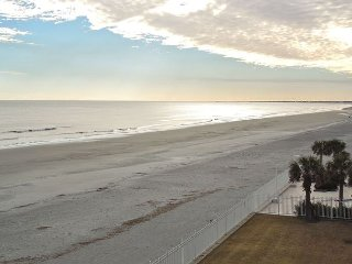Charleston Oceanfront Villas 316 - Oceanfront Condo on Third Floor, Folly Beach