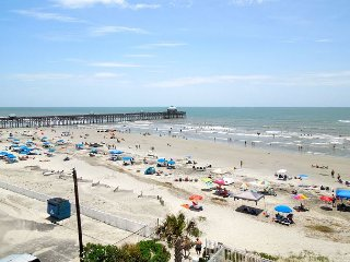 Charleston Oceanfront Villas 403- Best Views of Folly Pier, Front Beach, Folly Beach