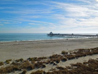 Folly Beach Suites 3A - Outstanding Ocean Views and Steps from Everything