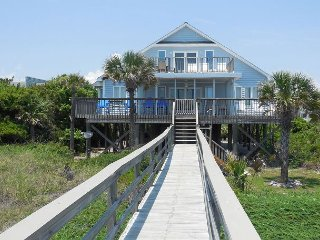 Living on the Edge - View of the Atlantic from Large Decks, Folly Beach