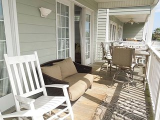 Pavilion Watch #1B - Large Oceanfront Condo, Folly Beach