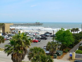 Pier Pointe Villas C301 - Great Top Floor View - See Dolphins and Surfers, Folly Beach