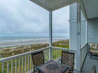 Seacoast Villas 5 - Views of the Atlantic from 2nd Story, Folly Beach