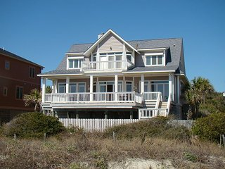 Sunrise, Sunset - Custom Home with Spacious Living Areas, Folly Beach