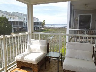 Water's Edge 111 - Enjoy both River and Marsh Views, Folly Beach