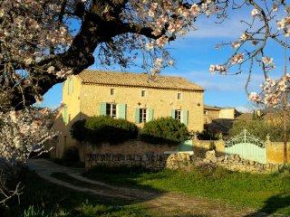 Mas authentique au calme, proche Uzes et Pont du Gard