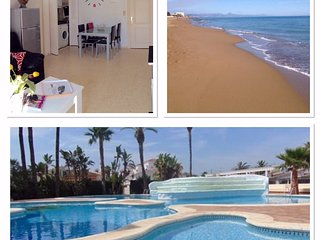 Appartement  à 80 m plage de sable - 2km Dénia