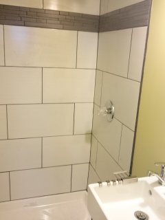 first floor bath room. It provide convenince to families. You can turn first floor a master nedroom