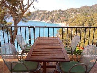 Apartamento frente al mar con piscina