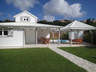 DIAMANT,charmante villa F5 conviviale, dans lotissement calme, proche de la mer