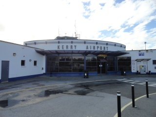 Kerry Airport -- 30 mins drive to the Cottage in Killorglin town.