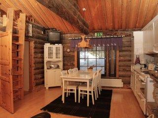 Hopukka F11 Traditional log cabin, Luosto