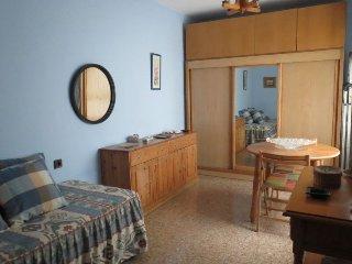 En el centro de Alicante , amplia habitacion en casa de familia con bano propio
