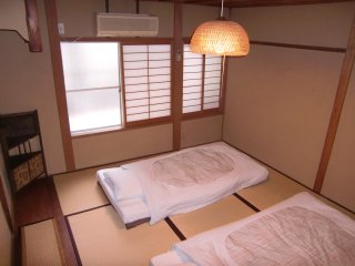 Japanese bedroom(up stairs)