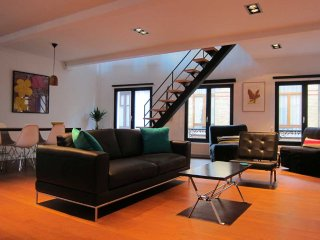 Spacious loft with Cathedral view, perfect location, historic city center!, Anvers