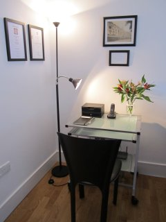 Study area facilities include wifi, Smart phone bluetooth speaker,USB charging points.