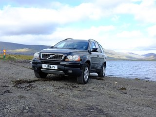 VOLVO XC90 SPORT UTILITY VEHICLE 4X4 SUV JEEP CAR RENTAL ICELAND LUXURY TRAVEL